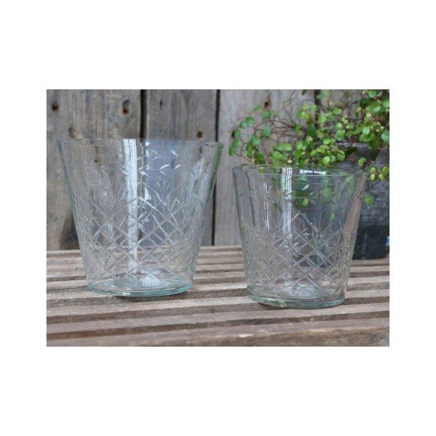 Glas skjuler med slibninger