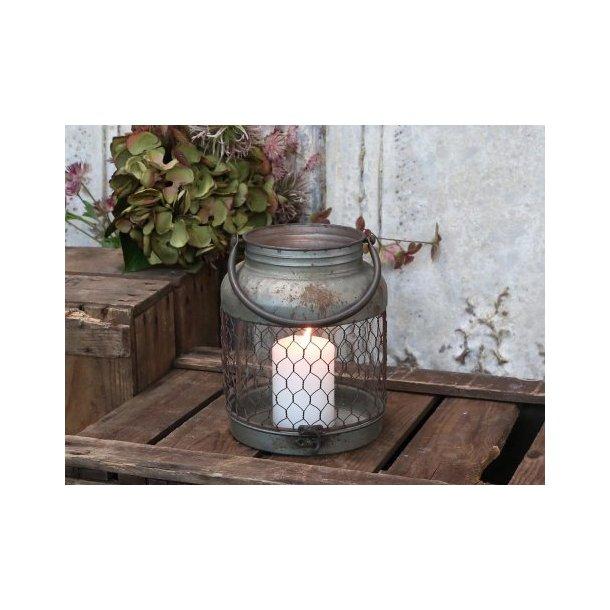 Factory lanterne fra Chic Antique i antique zink
