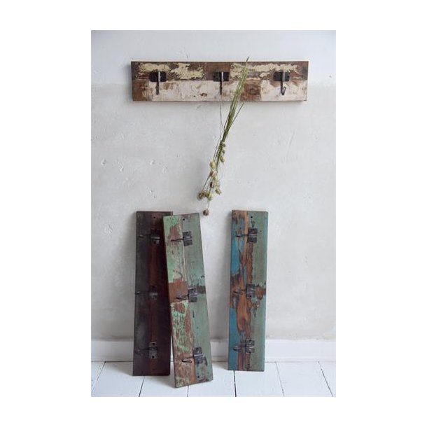Knagerække - 60 cm - genbrugstræ