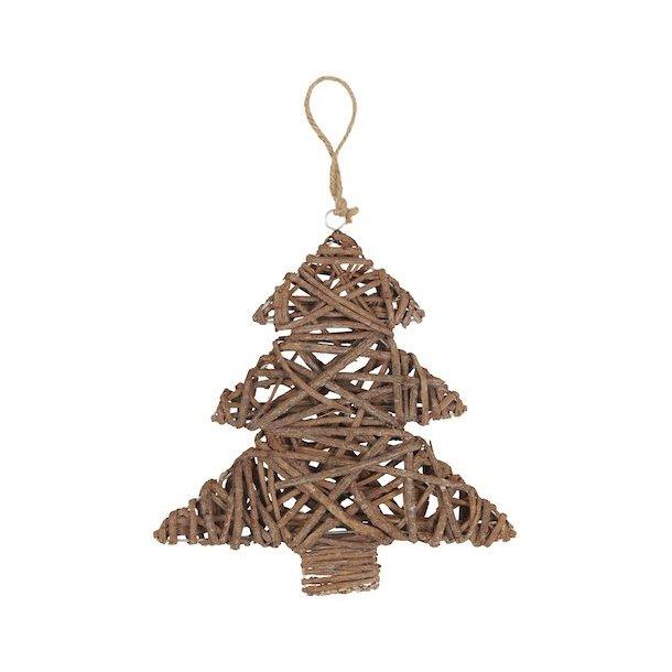 Juletræ omviklet af grene fra Ib Laursen
