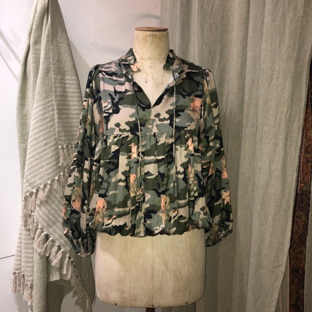 Courtney bluse - Military