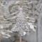 Juletræ med gammel tekst